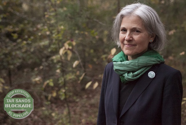 Green Party candidate Dr. Jill Stein is a staunch fracking opponent.