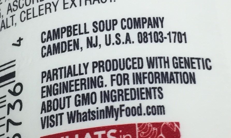 Campbells recently became the first company to voluntarily label GMOs. But over 90 percent of Americans routinely say they want mandatory GMO labels in national polls.