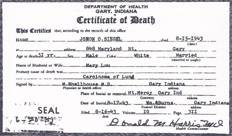 800px-Death_certificate_of_John_Otto_Siegel,_front_view