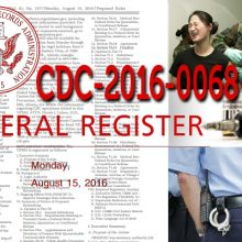 """Totalitarism Under the Guise of Public Health:""  The CDC Can Use Police to Detain and Force-Vaccinate If THIS Passes"
