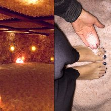 "Wow! This ""Cave"" is a Himalayan Salt Paradise with 45 Tons of Pure Salt Covering Walls, Ceilings, and Floor (MUST see)"