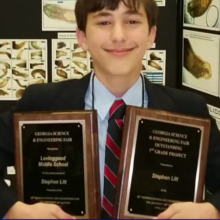"Seventh Grader Uses Green Tea to Make ""Remarkable"" Cancer Fighting Discovery for Science Fair Project"