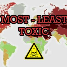 This New Map of The World Shows How TOXIC Each Country Ranks. These Results Will Surprise You.
