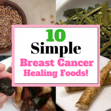10 Natural Breast Cancer Healing Foods You Can Start Adding to Your Diet Immediately