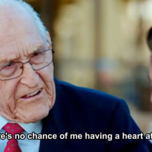 "Defiant 102-Year-Old Retired Surgeon is ""Heart Attack Proof!;"" He Shares His Secrets For A Long and Healthy Life"