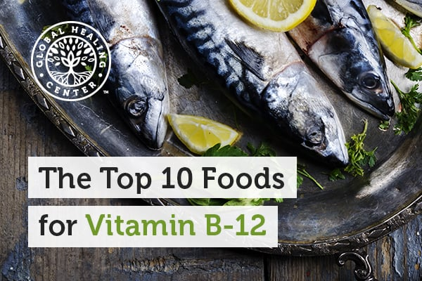 vitamin b12 top foods