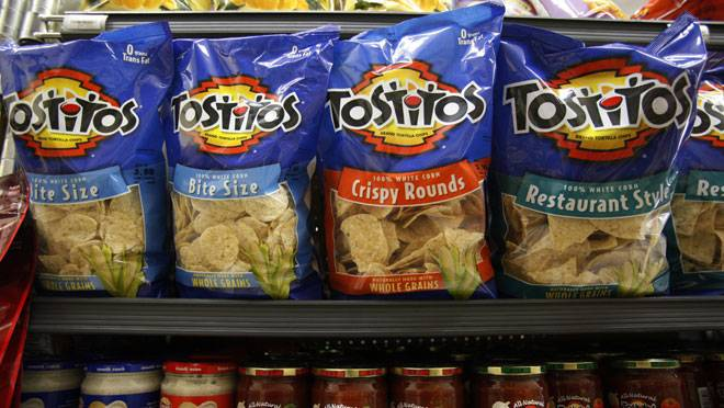 Tostitos chips gmo