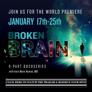 broken brain sign up page