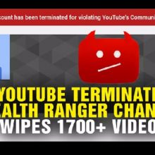 YouTube Censorship Purge Deletes NaturalNews: Over 1,700 Videos, Including Nutrition, Holistic Medicine
