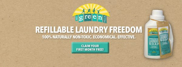 free trial natural laundry cleaning products