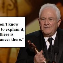 """There Is No Cancer There"" – How An Oscar Winner Beat Cancer By An Unusual Method"