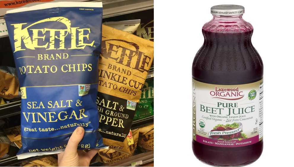 kettle chips and health food stores candida