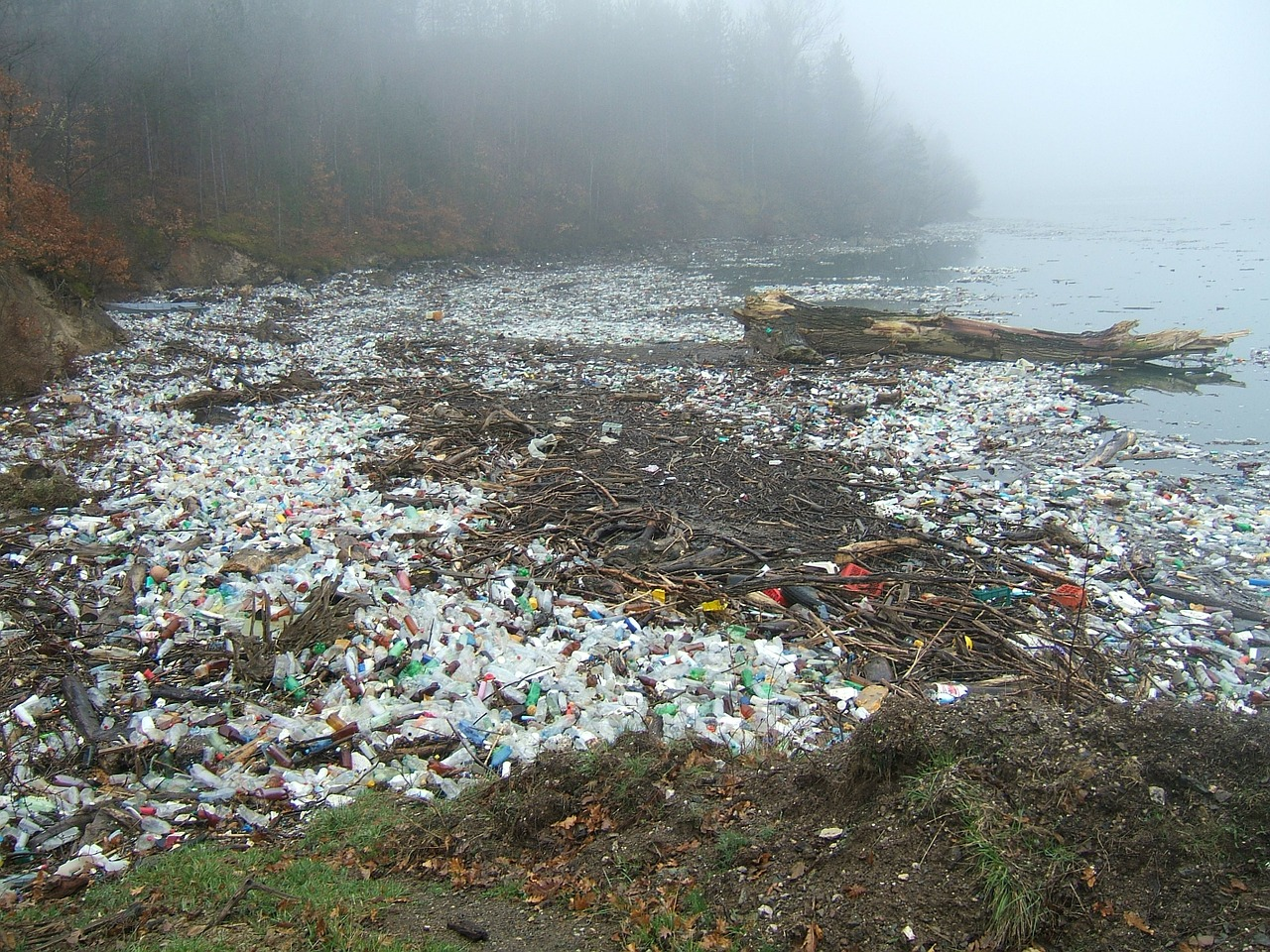 river plastic pollution