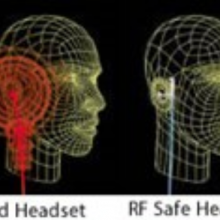 Bluetooth headphones beam electromagnetic radiation directly to the brain. Try these radiation-blocking headphones instead