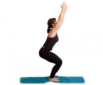 fierce pose yoga weight loss