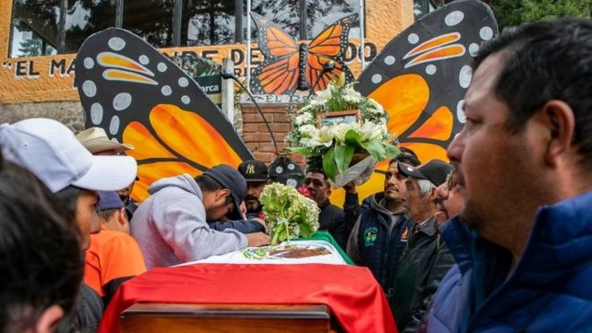 butterfly activist found dead mexico