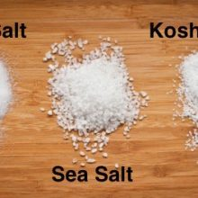 The Six Main Types of Cooking Salt, Ranked From Most to Least Processed