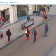 Companies now using sophisticated AI camera technology to track employees and enforce social distancing rules