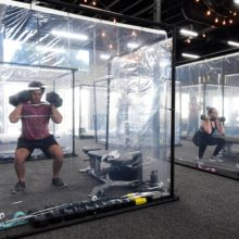 Southern California Gym Reopens With Assigned Workout Pods for Clients to Exercise Inside