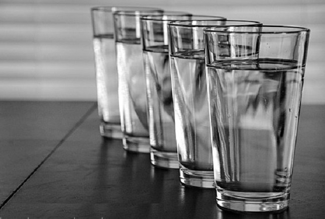 glasses of water Japanese water