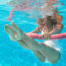 Five Swimming Pool Friendly Yoga Poses To Tone Your Body in Minutes Per Day